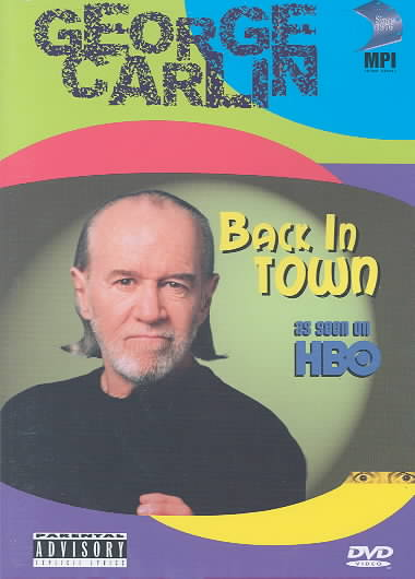 GEORGE CARLIN:BACK IN TOWN BY CARLIN,GEORGE (DVD)